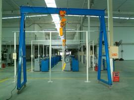 工厂钢丝绳葫芦龙门架规格利欣定制