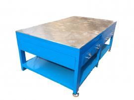 钢板模具组装重型工作台,加厚台面工作台,电木板模具工作台