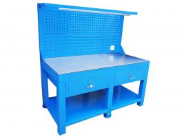 模具维修钢板平台、电木板模具平台、简?#36164;?#25277;屉钢板桌加厚面