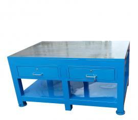 重型A3�板加厚工作�_,�木板模具工作桌款式,型�