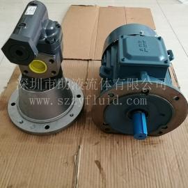 德国克拉克KRACHT高压耐磨低噪音液压泵齿轮泵KF8RF2/197