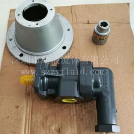 德国克拉克KRACHT高压耐磨低噪音液压泵齿轮泵KF32RF2/197-D15