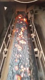 耐热输送带 水泥熟料用300℃高强力耐高温输送带 耐高热输送带