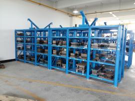 带葫芦模具架、重型全开式模具架利欣规格定制