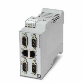 菲尼克斯接口转换器 - GW DEVICE SERVER 2E/4DB9 - 2702763