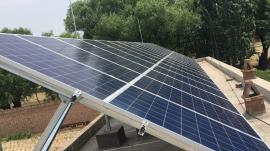 三晋阳光太阳能板/100KW光伏发电系统/光伏扶贫/光伏离网系统