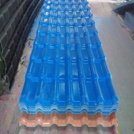 屋顶维修换瓦 旧房改造阳光棚专用树脂瓦