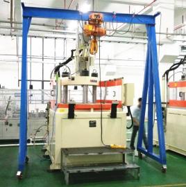 标准装卸重型龙门吊,固定式龙门架利欣定制