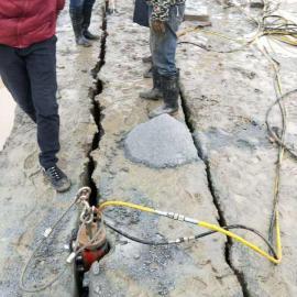 定安石材开采大型破碎分裂棒成本低