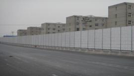 居民区声屏障、圆孔型声屏障