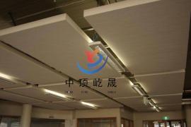 岩棉玻纤吸音板 岩棉降噪板 吸声吊顶板 岩棉天花吸声体 垂片