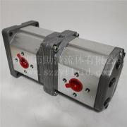 意大利Marzocchi耐磨高压双联齿轮泵ALPA3-S-60+ALPP3-S-60