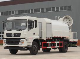 东风多利卡D9抑尘车市政环卫洒水车园林绿化专用车10-12吨运水车