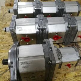 意大利Marzocchi耐磨高压双联齿轮泵ALPA3A-D-40-S1-E+ALPP1-D-9