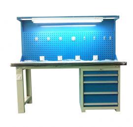 复合桌面工作台,工具挂板工作台,不锈钢工作台灯架挂板