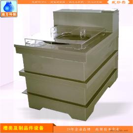 金属表面处理电镀槽 电解槽 电泳退镀槽制造厂设计定制