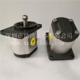 德国Rexroth原装进口高压旋挖机齿轮泵0510725048 AZPN-11/032RCB