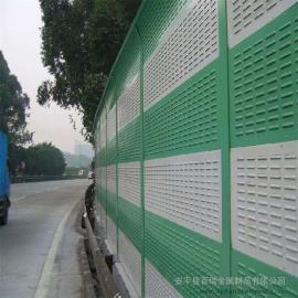 声屏障隔音墙-轨道交通声屏障-金属百叶孔声屏障-透明pc板声屏障