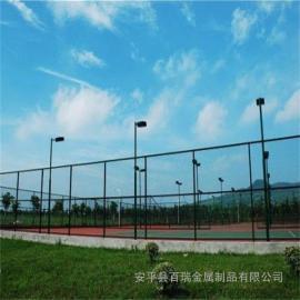 篮球场围栏|篮球场地围网厂|室外足球场围网|篮球场铁丝围网