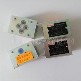 原装力士乐叠加式单向阀Z1S 6 P15-4X/V R901104197
