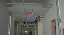 写字楼 岩棉玻纤吸声板 降噪吸音吊顶板 屹晟建材出品 吸声垂片