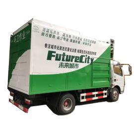 东风吸污车,环卫吸污车,清洗吸污车,将污泥变化肥,污水粪便变清水