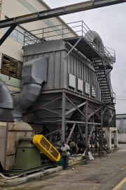 50 T/H 矩形熔铝炉除尘器