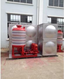 304不锈钢 箱泵一体化泵站 型号单系统4*3*2