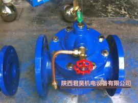 远程自动补水阀 液压水位控制阀100X水塔水池角式液位控制器