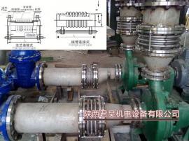 不锈钢波纹膨胀节 泵用减震伸缩器 暖气供热水无约束补偿器