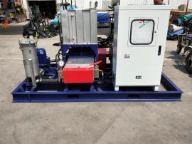 制药厂换热器高压清洗机