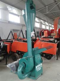 塑料粉碎机效果好 中小型饲草料粉碎机产地 时产300-700公斤