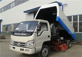 团购2-3方扫路车小型福田时代扫地车乡村道路垃圾清�哕�柴油