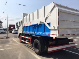 10吨污泥自卸车参数图片 污泥车 10吨污泥运输车