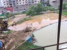 风化石泥浆压干设备顶管施工泥水分离设备