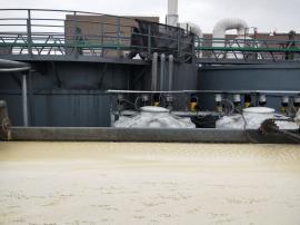 排污口淤泥压干设备洗沙场泥水分离设备