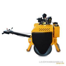 圣时小型压路机 手扶大单轮压路机 柴油小型压路机经济耐用