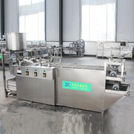 全自动商用豆腐皮机 小型不锈钢豆腐皮机械 豆腐皮机器