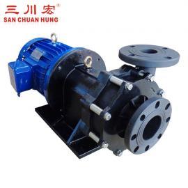 三川宏耐酸碱磁力泵塑料材质耐腐蚀ME75102