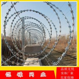 防攀爬刺丝滚笼 高铁刺丝滚笼防护栅栏刺丝滚笼