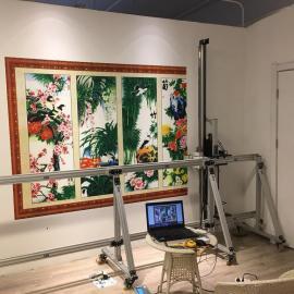 新农村建设文化墙体彩绘机 广告万能喷绘机