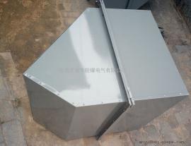 边墙式轴流风机WEX-400D4-0.19配方形防雨罩防虫鸟网