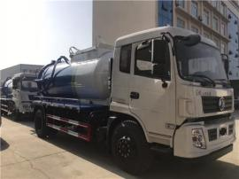 【圆罐式12吨15吨污泥自卸运输车配置图片展示】