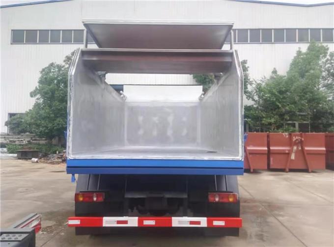 10吨自卸式污泥运输车、污水厂10吨污泥车型号相关报道