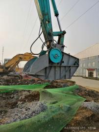 日本进口武卫达中型挖机破碎机 移动式挖机破碎机