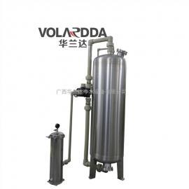 华兰达直供压力式除铁锰过滤器 地下水发黄农村水净化设备过滤罐