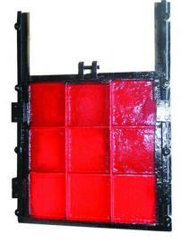 法兰式铸铁镶铜圆闸门的应用与功能