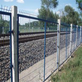 封闭式防护栅栏 桥下隔离栅栏