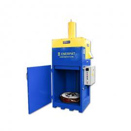 防爆铁桶压扁机200升油桶打包机