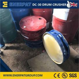 油桶压扁机 立式液压桶类打包机恩派特